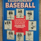 How to Play Championship Baseball - Hard Cover Book - Mickey Mantle - Stan Musial