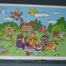 McDonald's Jigsaw Puzzle - Ronald McDonald - Hamburglar - Golden Arches - COMPLETE