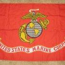 USMC Pole Flag  3 x 5  United States Marine Corps  Semper Fidelis US Marine