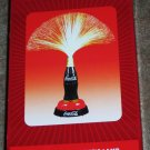 Coca-Cola Fiber Optic Contour Bottle Table Desk Lamp Coke Novelty NIB NEW in Box