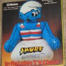 Smurf Inflatable TV Chair - Peyo - Helm Toy Co - Smurfs - Unused