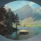 550 Piece Oval Jigsaw Puzzle - Mountain Retreat - Western Publishing Co - 1967 - COMPLETE
