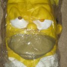 Homer Simpson Adult Vinyl Full Mask - The Simpsons - Halloween - Disguise - NEW
