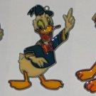 Disney Acrylic Suncatcher Lot - Sun Catcher - Minnie Mouse - Donald Duck - Pluto
