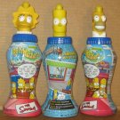 The Simpsons Bellywashers Set of 3 - Belly Washers - Homer - Lisa - Bart - Simpson
