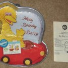 Wilton Aluminum Cake Pan + Insert + Instructions - Big Bird - 2105 805 - Sesame Street - Muppets