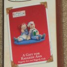 Hallmark Keepsake Christmas Ornament - A Gift For Raggedy Ann - Andy Doll - Clip-On - 2003