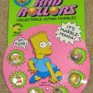 The Simpsons Rad Rollers 1990 Spectra Star Marbles Homer Marge Bart Lisa Maggie