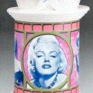 Marilyn Monroe Ceramic Tin Container Cookie Jar Vandor NIB NEW in Box 2002