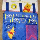 Winnie the Pooh Beach Chair Organizer - Disney - Blue - NEW