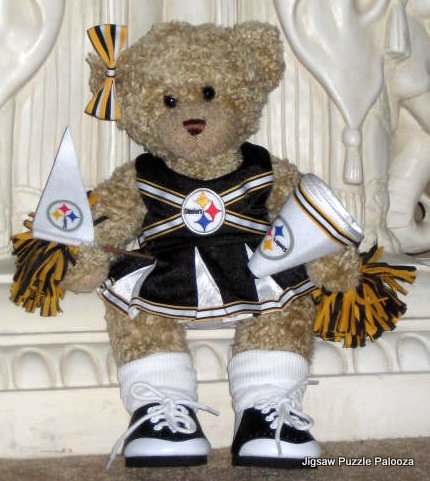 bf457bf2517 SOLD Build-a-Bear Workshop Pittsburgh Steelers Cheerleader - NFL - Football  - Outfit - Uniform