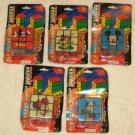Mickey & Minnie Mouse Magic Square / Cube - Lot of 5 Different