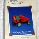 1928 Jingle Bell Express Hallmark Keepsake Ornament Kiddie Car Classics Pedal Car Train 2002 NIB