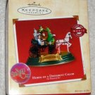 Horse of a Different Color Hallmark Keepsake Ornament The Wizard of Oz Magic Light & Voice 2002 NIB
