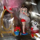 Betty Boop Always a Star Ornament Set in Tin Carlton Cards Pudgy NEW 2002