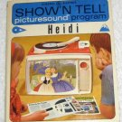Vintage Heidi 1964 General Electric Show'N Tell Picturesound Program Record ST-108