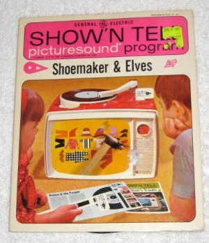 SOLD Shoemaker & Elves 1965 General Electric Show'N Tell Picturesound Program Record ST-167