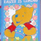 Winnie the Pooh Easter is Coming Decorative Garden Flag 28 x 40 Disney Polyester New NIP