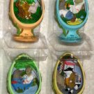 The Wind in the Willows Resin Figurines Complete Set of 4 Limited Edition CVS Exclusive MIB 2002