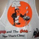 Baltimore Orioles BBQ Chef Cook Apron Oriole Bird MLB Yago Tailgate Grill NEW