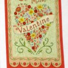 Be Mine Valentine Decorative Artist's Touch Garden Flag 25.5 x 38 Polyester New NIP Valentine's