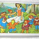 Snow White and the Seven Dwarfs Block Cube Puzzle 7 Walt Disney Blocks Cubes Squares
