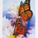 Butterfly Welcome Artist's Touch Mini Decorative Garden Flag 12.5 x 18 Spring Summer New NIP