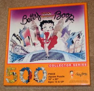 Sold Betty Boop Cool Breeze 500 Piece Jigsaw Puzzle