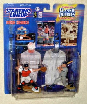 Thurman Munson Yogi Berra Classic Doubles SLU Starting Lineup 1998 New York Yankees Catchers