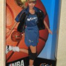 NBA Barbie Washington Wizards Doll Blonde 20696 Basketball Mattel Authentic Team Uniform NIB