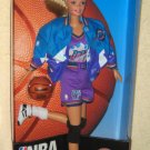 NBA Barbie Utah Jazz Doll Blonde 20708 Basketball Mattel Authentic Team Uniform NIB