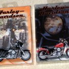 Harley Davidson Motorcycle Playing Cards 2 Sealed Decks 579 US Playing Card Company 1999