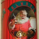 Coca-Cola Christmas Santa Claus Tin Cans Pause That Refreshes 1953 Good Boys and Girls 1951 Coke