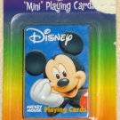 Mickey Mouse Mini Playing Cards Card Deck Walt Disney Bicycle Brand NIP