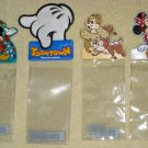 Disneyland Tokyo ID Pass Ticket Holder Clip On Walt Disney Mickey Minnie Mouse Chip Dale Toontown