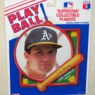 Jose Canseco Play Ball Superstar Collectible Plaque Tara Toy Corp Oakland A's Athletics MLB NIP