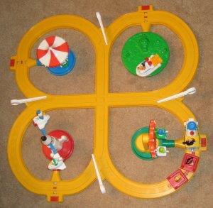 SOLD Disneyland Theme Park Motorized Train Set Parts Vintage 1980's Disney Mickey Mouse Amusement
