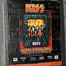 KISS Destroyer Wall Fountain Water Gene Simmons Paul Stanley Ace Frehley Peter Criss Cast Resin NIB