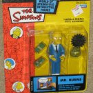 Mr. Burns Re-Release Blue Suit Variation Variant WOS Interactive Figure The Simpsons Playmates