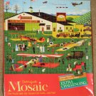 Charles Wysocki 300 Piece Mosaic Puzzle Four Aces Flying School 4290-4 SEALED 1981