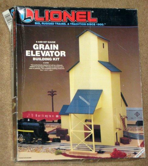 SOLD Lionel Trains 6-12726 Grain Elevator Building Plastic Model Kit O and  O27 Gauge Unbuilt