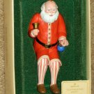 Old Fashioned Santa Hallmark Keepsake Ornament Claus QX409-9 Jointed Movable Arms & Legs 1983