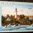 Midsummer Breeze 1000 Piece Jigsaw Puzzle Lighthouse Klaus Strubel FX Schmid 78139 Complete 2003