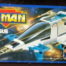 He-Man Astrosub Mattel 1986 Fighter Jet Astral Submarine Masters of the Universe MOTU Italy 1989