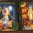 Glow in the Dark Wizard 550 Piece Puzzle Lot of 2 Wizards World 2333-37 Booked Flight 2333-13 Ceaco