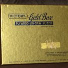 Victory Gold Box Plywood 200 Piece Jigsaw Puzzle Wooden Whimsies Jews House Polperro  GJ Hayter 7101