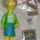 Edna Krabappel World of Springfield Interactive Figure WOS Series 7 Loose Playmates Toys Simpsons