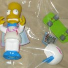 Daredevil Bart Simpson World Springfield Figure WOS Series 8 Loose Playmates Simpsons Accessories