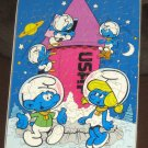 The Smurfs 55 Piece Wood Jigsaw Puzzle Wooden Smurfette Smurf Milton Bradley MB Peyo 1982 Complete