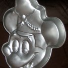 Bandleader Mickey Mouse Wilton Cake Pan Disney 515-302 Aluminum 1984 Band Leader